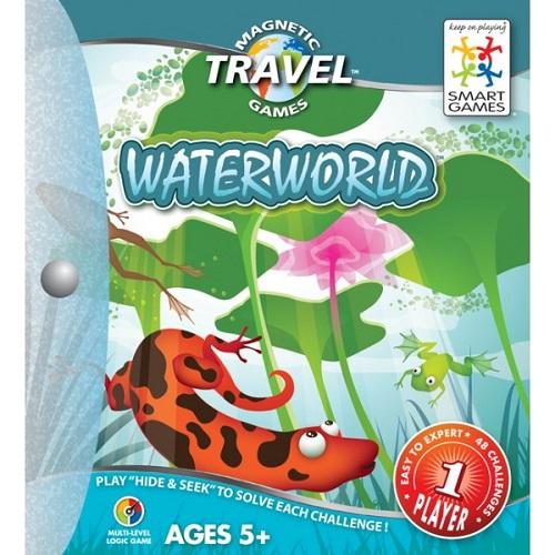 Smartgames επιτραπέζιο ο κόσμος του νερού (48 challenges)