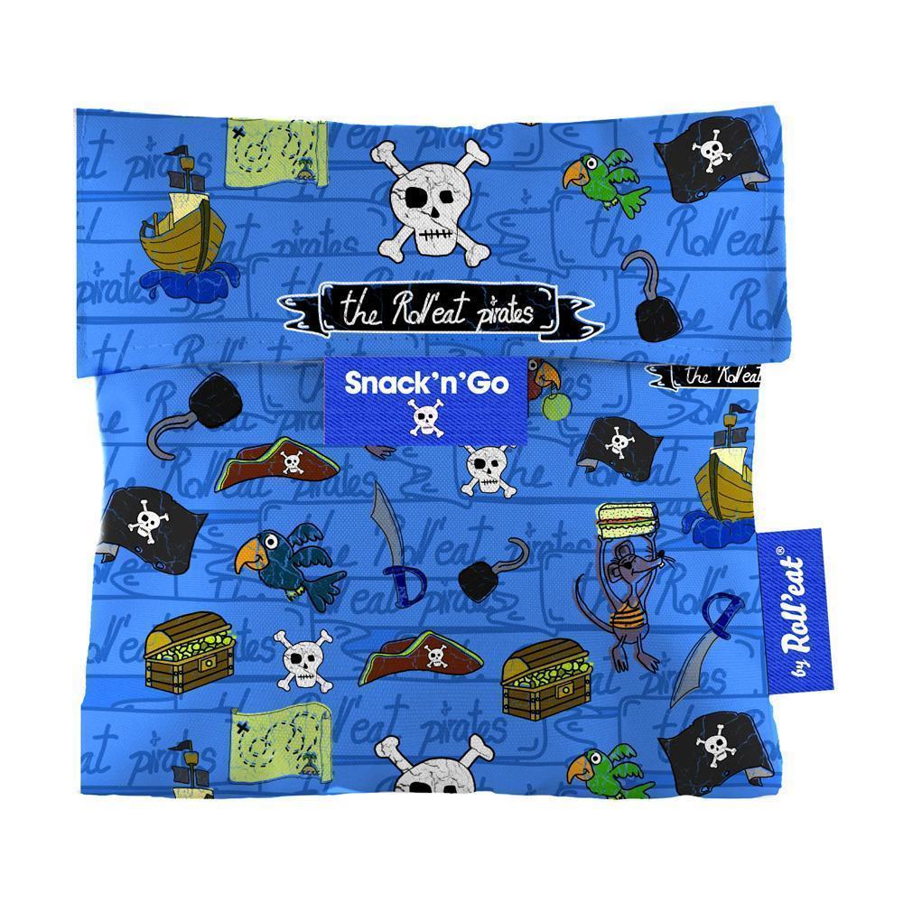 Περιτύλιγμα σάντουιτς Snack n' Go Pirates-Γαλάζιο EcoLife