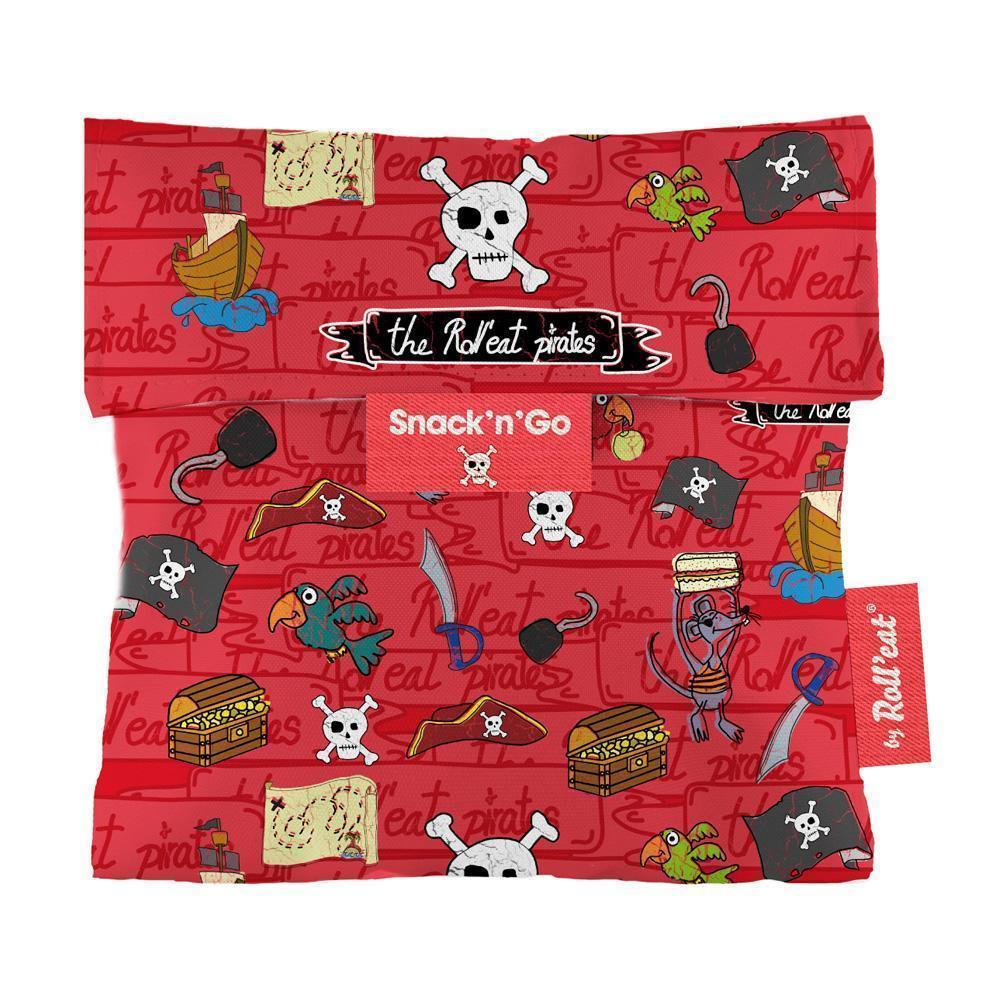 Περιτύλιγμα σάντουιτς Snack n' Go Pirates-Κόκκινο