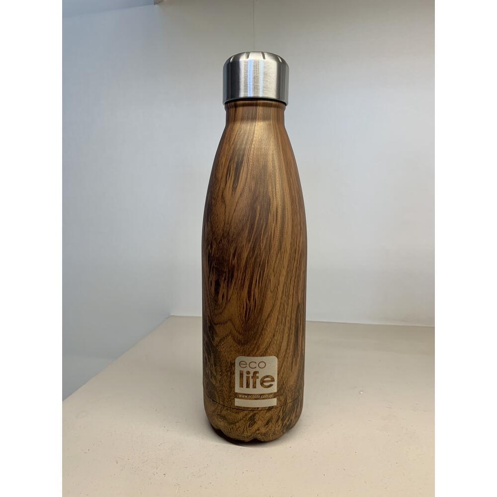 Ecolife Θερμός <br/> Wood 500ml