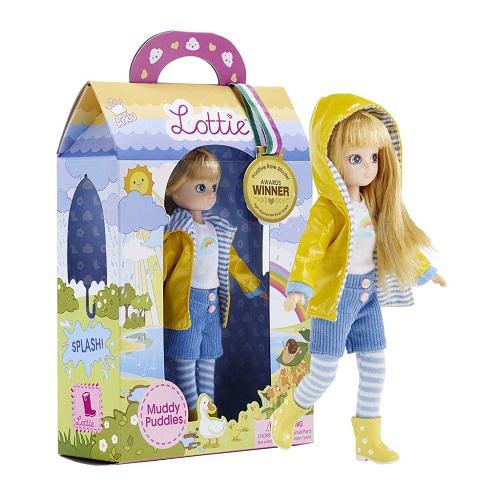 Lottie Κούκλα βινυλίου 'Βροχερή μέρα' 18εκ